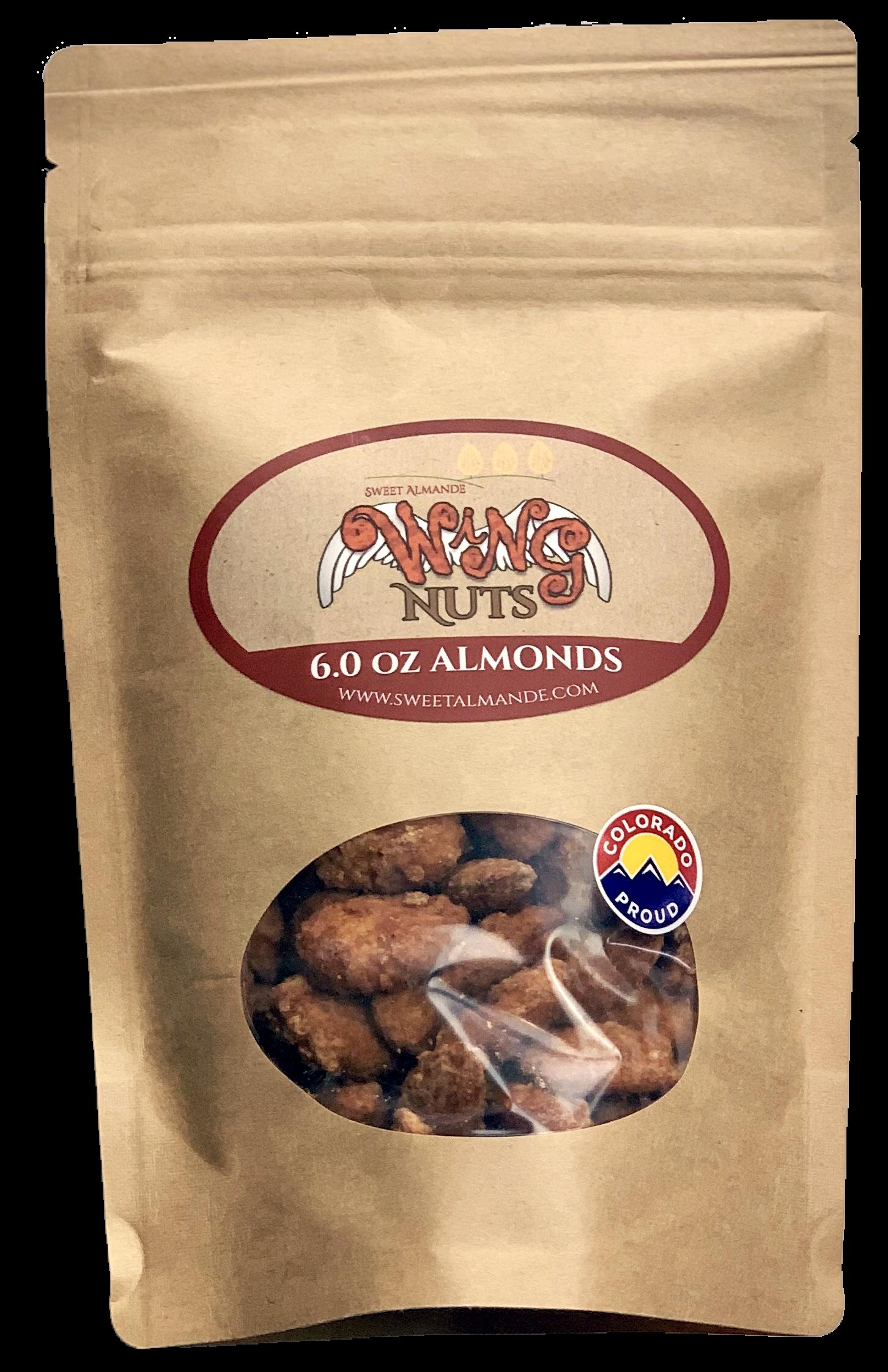 sweet Almande Wing nuts